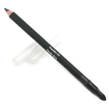 Elizabeth Arden-Smoky Eyes Powder Pencil - #01 Smoky Black
