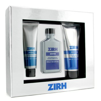 Zirh International-Window Box Set: Scrub 50ml + Soothe 100ml + Shave Gel 100ml