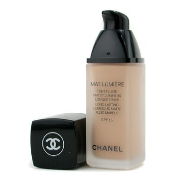 Chanel Mat Lumiere Trang Điểm Dạng Lỏng Trong Mờ Bền L�u SPF15  - # 40 Beige  30ml/1oz