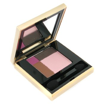 Yves Saint Laurent-Ombres Quadrilumieres ( 4 Colour Harmony for Eyes ) - # 01 Sienna