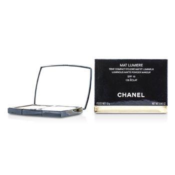 Chanel Mat Lumiere Luminous Matte Phấn Trang Điểm SPF 10 - # 125 Eclat  13g/0.45oz