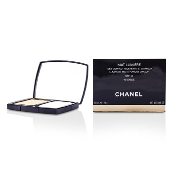 Chanel Mat Lumiere Luminous Matte P� Makeup SPF10 - # 40 Sable  13g/0.45oz