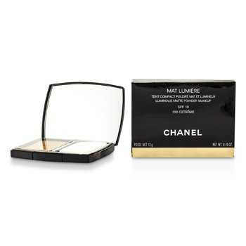 Chanel Mat Lumiere Luminous Matte Powder Makeup SPF10 - # 130 Extreme  13g/0.45oz