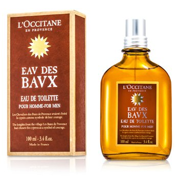 L'OccitaneEau Des Baux For Men Agua de Colonia Vaporizador 100ml/3.4oz