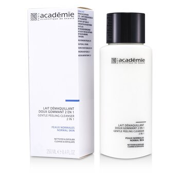 Image of Academie 100% Hydraderm Gentle Peeling Cleanser 2 in 1 250ml/8.4oz
