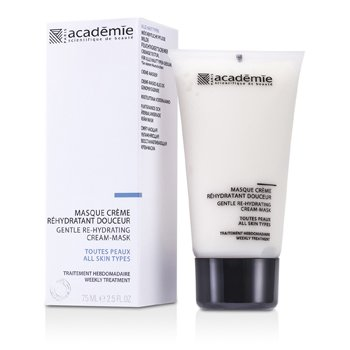 Image of Academie 100% Hydraderm Gentle Re-Hydrating Cream Mask 75ml/2.5oz