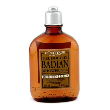 L'Occitane Badian Shower Gel  250ml/8.4oz
