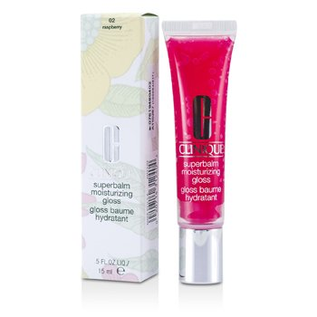 Clinique Superbalm Moisturizing Gloss - No. 02 Raspberry  15ml/0.5oz