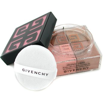 Givenchy Paleta czterech pudr�w sypkich Prisme Libre Loose Powder Quartet Air Sensation - #04 Tender Sun  20g/0.7oz