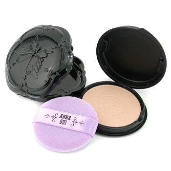 Anna Sui-Pressed Powder ( Case & Refill ) - # 001