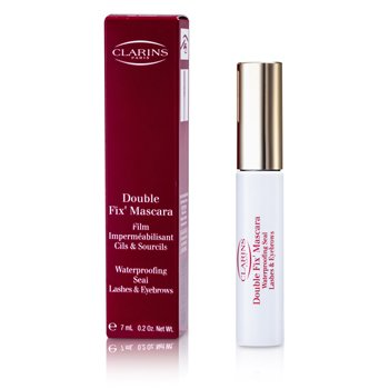 Clarins Double Fix Mascara (Waterproofing Seal Lashes & Eyebrows)  7ml/0.2oz