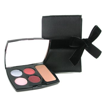 Lancome-Palette Yeux, Levres Et Teint ( 2x Eye Color, 2x Lip Color, 1x Star Bronzer Powder )