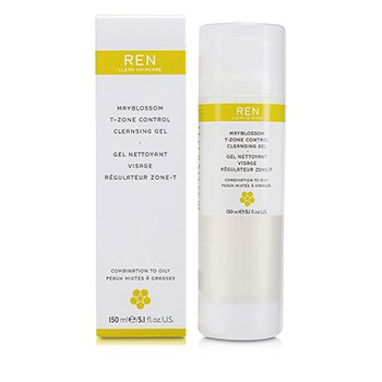 Ren-Mayblossom & Blue Cypress Facial Cleansing Gel ( Combination Skin )