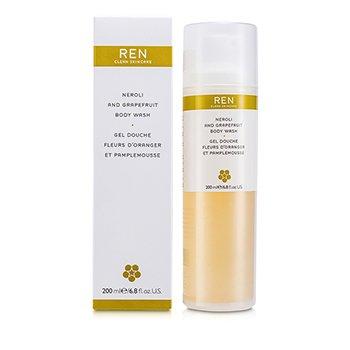 Ren-Neroli & Grapefruit Body Wash
