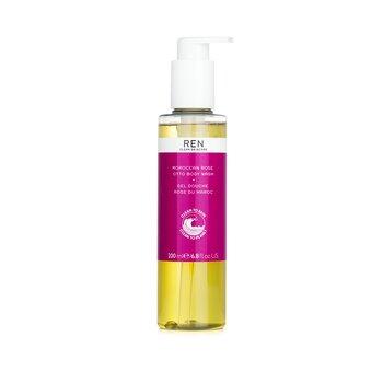 Ren Moroccan Rose Otto Body Wash  200ml/6.8oz