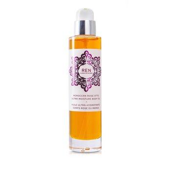 Ren Moroccan Rose Otto Ultra Moisture Body Oil  100ml/3.3oz