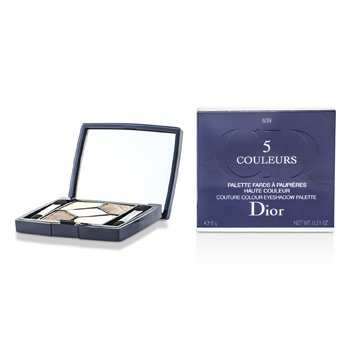 Christian Dior-5 Color Iridescent Eyeshadow - No. 609 Earth Reflection