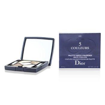 Christian Dior 5 Color Iridescent Sombras de Ojos - No. 609 Earth Reflection  6g/0.21oz