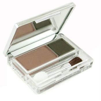 Clinique-Color Surge Eyeshadow Duo - No. 211 Spruced Up