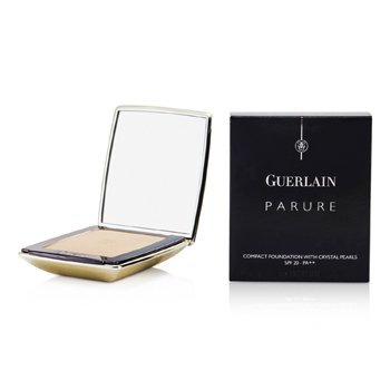 Guerlain-Parure Compact Foundation with Crystal Pearls SPF20 - # 03 Beige Parfait