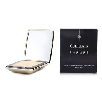 Guerlain-Parure Compact Foundation with Crystal Pearls SPF20 - # 12 Rose Delicat