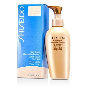 ShiseidoDaily Bronze Hidratante Emulsion Bronceadora ( Cara / cuerpo ) 150ml/5.1oz