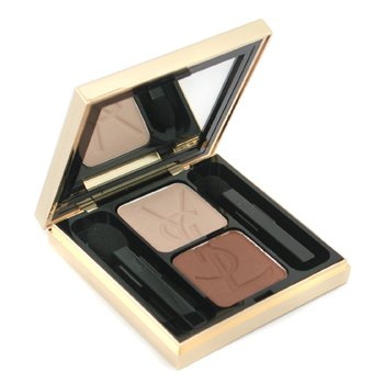Yves Saint Laurent-Ombre Duo Lumiere - No. 13 Golden Sand/ Brown Earth