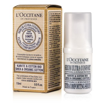 L'OccitaneShea & Organic Cotton Ultra Comforting Soro 15ml/0.5oz