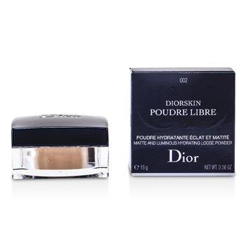 Christian Dior Diorskin Matte & Luminous Hydrating Loose Powder - 002 Transparent Medium  16g/0.56oz
