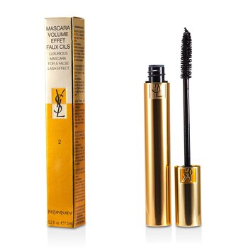 Yves Saint Laurent-Mascara Volume Effet Faux Cils ( Luxurious Mascara ) - # 02 Rich Brown
