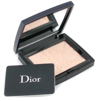 Christian Dior-Diorskin Matte & Luminous Sheer Pressed Powder - # 001 Transparent Light
