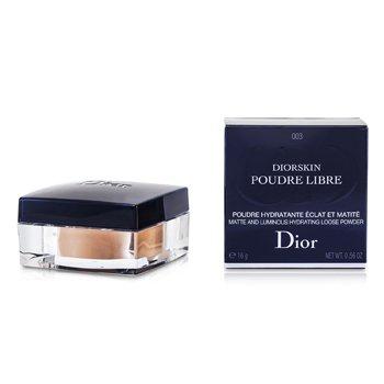 Christian Dior-Diorskin Matte & Luminous Hydrating Loose Powder - 003 Transparent Deep
