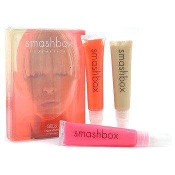 Smashbox-In Flight Gel Lipgloss Trio ( # Hue, # Film, # Tint )