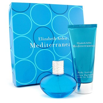 Elizabeth Arden-Mediterranean Coffret: Eau De Parfum Spray 30ml+ Body Lotion 100ml