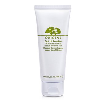 OriginsOut of Trouble 10 Minute M�scara Facial To Rescue Problem Skin 100ml/3.4oz