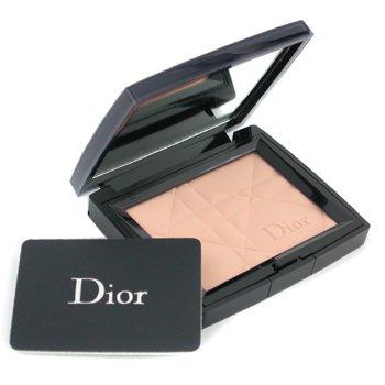 Christian Dior-Diorskin Matte & Luminous Sheer Pressed Powder - # 002 Transparent Medium