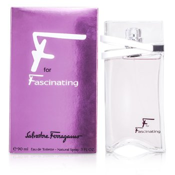 Salvatore Ferragamo F for Fascinating Eau De Toilette Spray 90ml/3oz