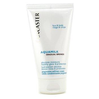 Lancaster-Aquamilk Gradual Bronze Absolute Moisture Progressive Self-Tan Cream ( For Face & Body )