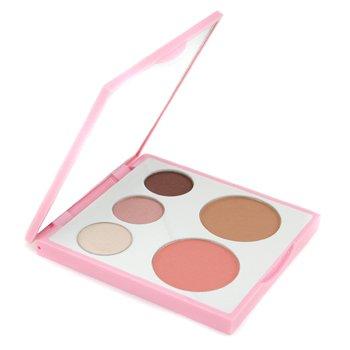 Fresh-Island Reverie Face Palette: 3x Eye Shadow + 1x Blush Powder + 1x Bronzing Face Luster