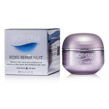 Biotherm Rides Repair Night Intensive Wrinkle Reducer - Reparador Noche intenso Arrugas ( Piel Seca )  50ml/1.69oz