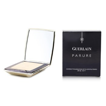 Guerlain-Parure Compact Foundation with Crystal Pearls SPF20 - # 01 Beige Chic