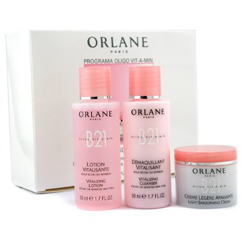 Orlane-Travel Set: Vitalizing Cleanser 50ml+ Vitalizing Lotion 50ml+ Light Smoothing Cream 20ml