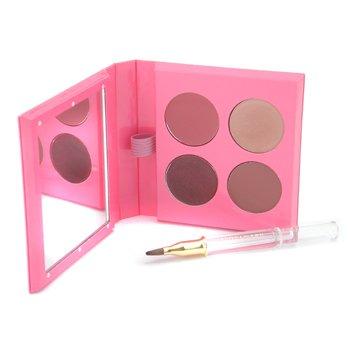 Estee Lauder-Pure Color Crystal Lipstick Palette ( #303, #306, #307, #321 )