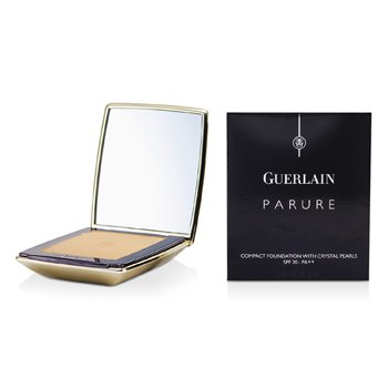 Guerlain-Parure Compact Foundation with Crystal Pearls SPF20 - # 23 Dore Star