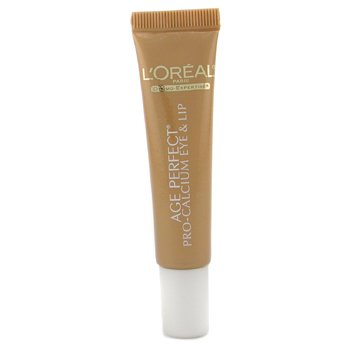 L`Oreal Dermo-Expertise Age Perfect Pro Calcium Eye & Lip Cream (For Very Mature Skin) 15ml/0.5oz