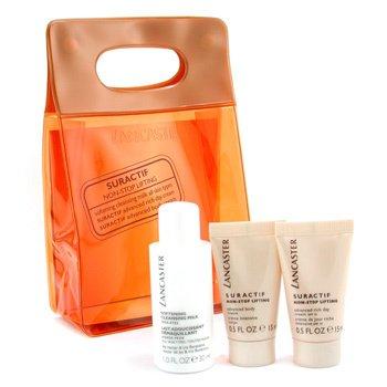 Lancaster-Suractif Non Stop Lifting Travel Set: Cleanser + Day Cream + Body Cream + Bag
