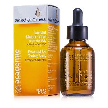Academie AcadAromes Essential Oil Toning Body 100ml33oz