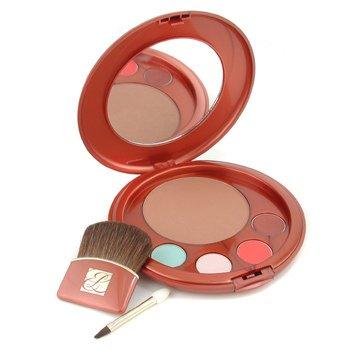 Estee Lauder-Bronze Goddess Palette: ( Bronzer+ 2x Eyeshadow+ 2x Lipstick+ 2x Applicator )