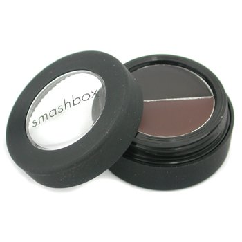Smashbox-Cream Eye Liner Duo - # Midnight Brown/ Caviar ( Unboxed )