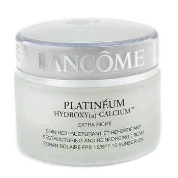 Lancome-Platineum Extra Riche Restructuring and Reinforcing Cream SPF 15 ( Made In USA )